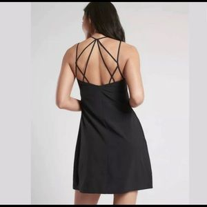 Athleta Dress with Sexy Back and Pockets-NEW-14